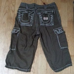 True religion long shorts